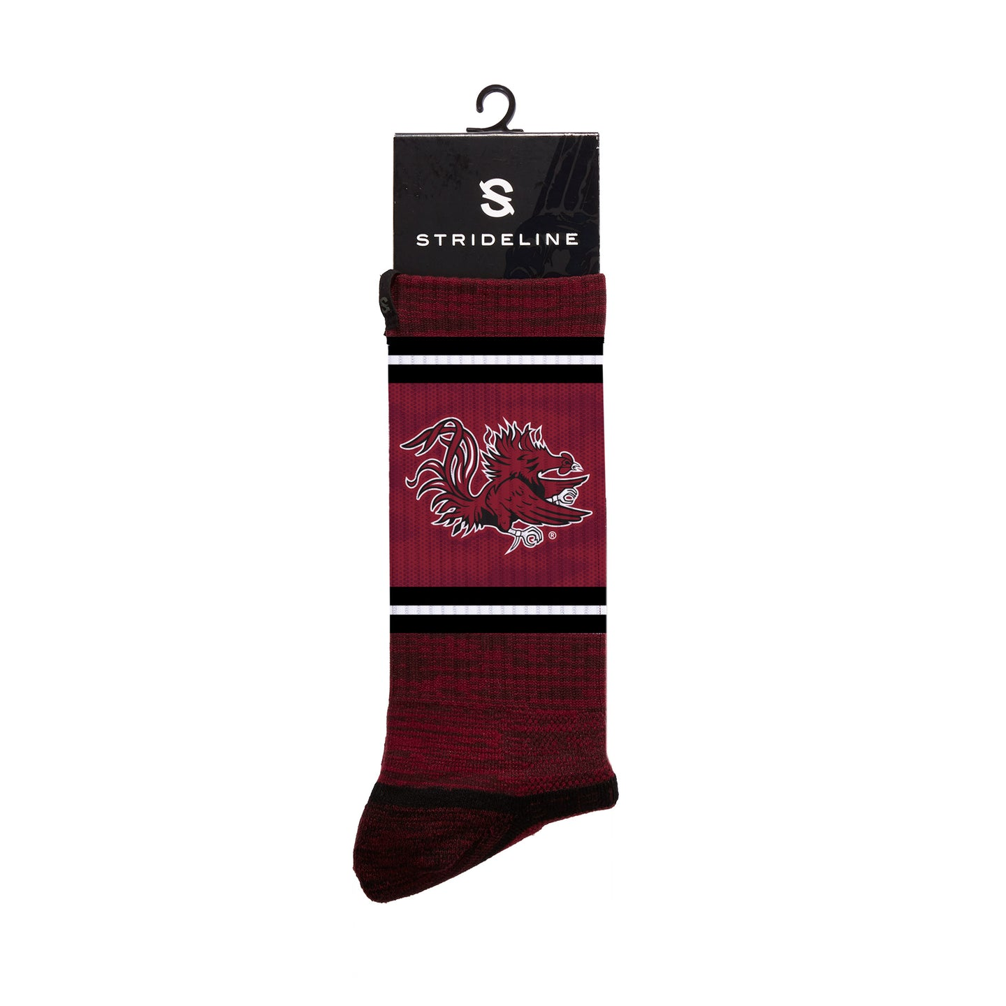 South Carolina Maroon Crew Socks