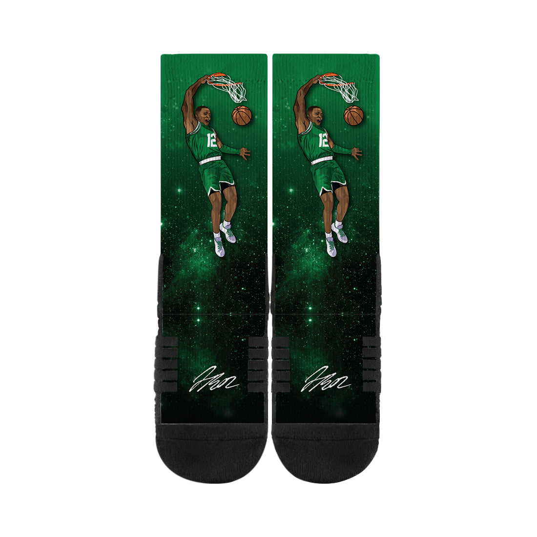 Terry Rozier Dunk Black Socks