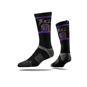 Willie Cauley-Stein Black Crew Socks