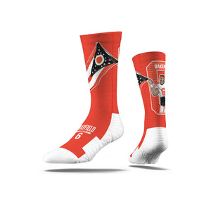 Baker Mayfield Flag Orange Socks