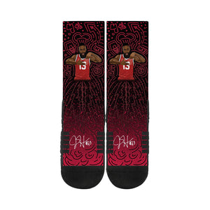 James Harden Stir It Up Black Socks