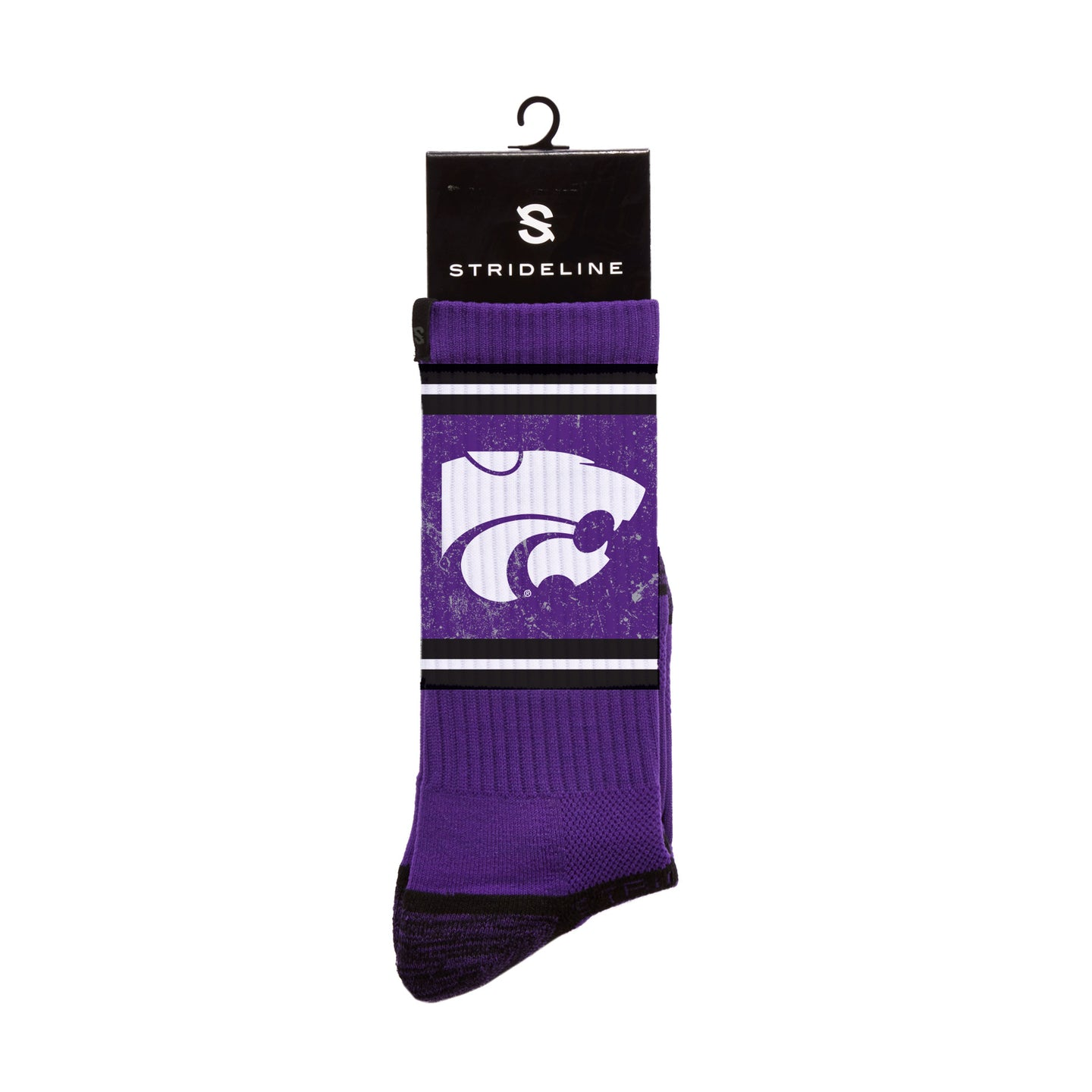 Kansas State University Wildcats Purple Crew Socks