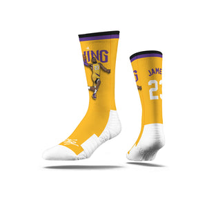 Lebron James Dunk Yellow Socks