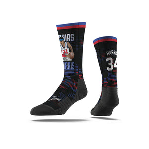 Tobias Harris Triple Threat Black Socks