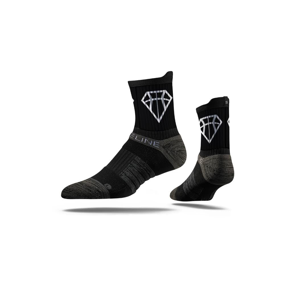 Hoop Diamonds Black Mid