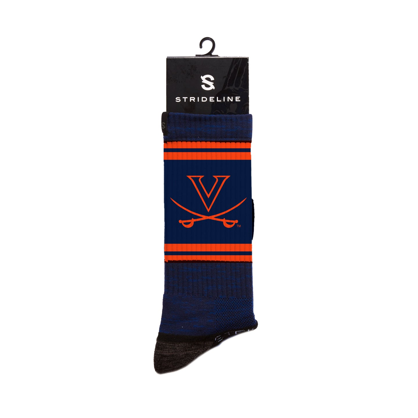 Virginia Cavaliers Navy Crew Socks