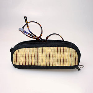 Eye Glass Holder - Double Compartment w/ Wristlet