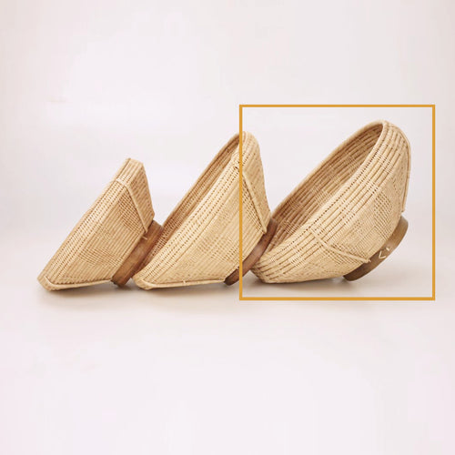 2-1 BOWL Solid Weave 'La Hong' - Large