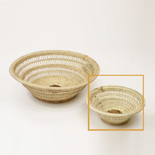 2-3WMini Decorative Fruit Basket/Bowl (Collector's) - Mini