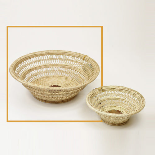 2-3 Decorative Fruit Basket/Bowl (Collector's) - Large