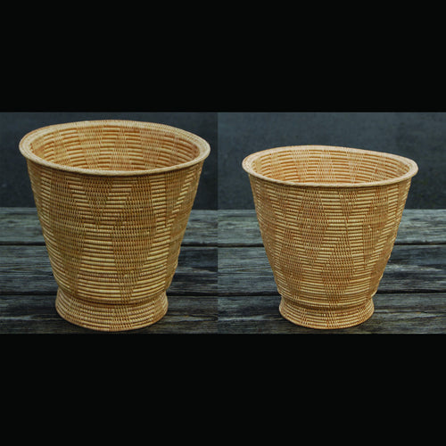 2-7L Paper Basket Solid Weave - Large
