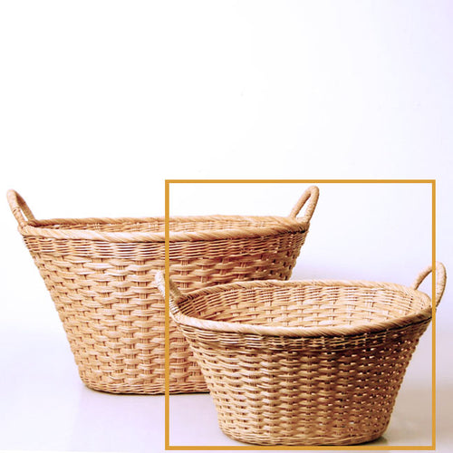 8-2OMini Multi-Use Oval Laundry Basket with Handles-FREESHIP (within US except HI, AK and Canada) MUST ORDER 12PCS