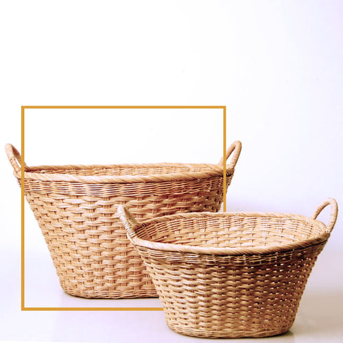 8-2Oval Multi-Use Oval Laundry Basket with Handles-Large FREESHIP (within US except HI, AK and Canada) MUST ORDER 12PCS - SOLD OUT - AVAIL MAY 2020