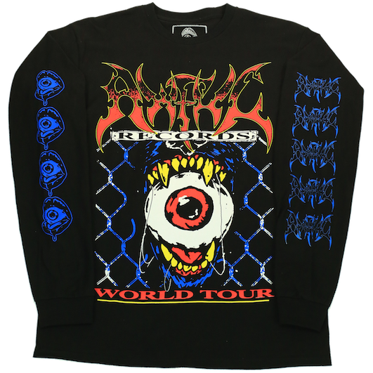 Awful Records Tour Tee Wolf Pack