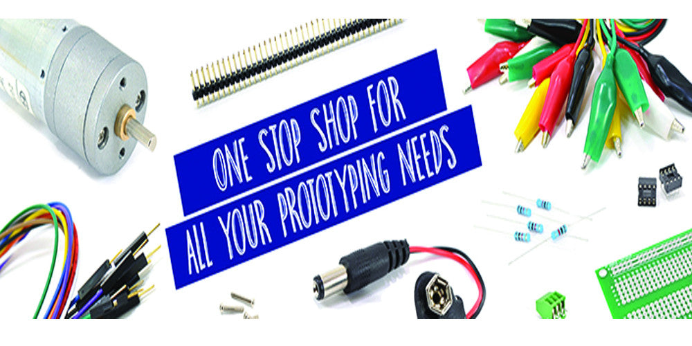 ONE STOP SHOP FOR ALL YOUR PROTOTYPING NEEDS