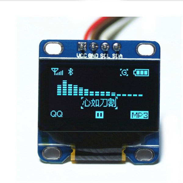 "0.96"" Inch OLED Display Module - 128x64 (Blue)"