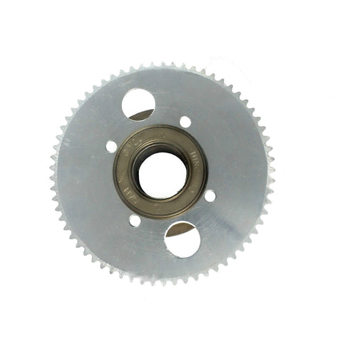 65 Teeth Wheel Sprocket for #25 chain and 54mm Freewheel