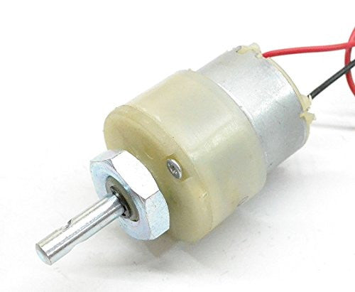 30 RPM Centre Shaft DC Motor 12V Techtonics