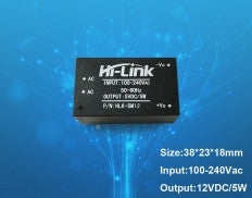 Hi-Link AC-DC Power Module HLK -5M12 230V to 12V/5W