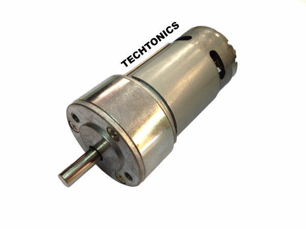 Tauren Geared DC Motor Series 100 - 100 RPM