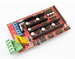 RAMPS 1.4 Board Red with box