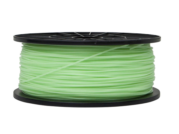 Wanhao Luminous Green (Glow in the Dark) PLA 1.75mm 1 KG Filament for 3d printer - Techtonics