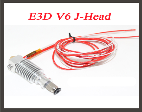 Bowden Feed Reprap All Metal J-head Nozzle with Cable, High Temperature Resistance Extrusion Head