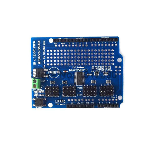 16-Channel 12-bit PWM/Servo Driver - I²C Interface - PCA9685