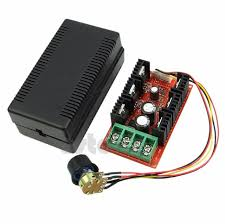 12V 24V 48V 40A DC Motor Speed Regulator PWM HHO RC Controller 2000W - Techtonics
