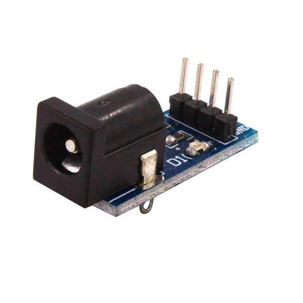 Dc power supply module for dc power adapter plate