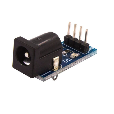 Dc power supply module for dc power adapter plate - Techtonics