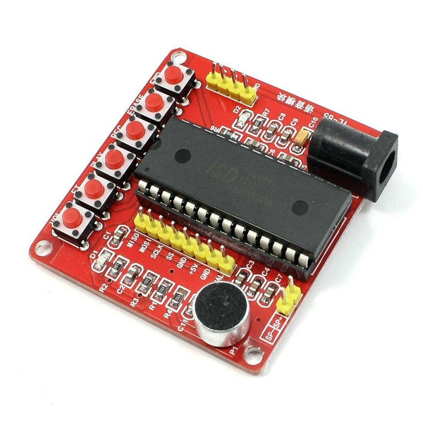 ISD1700 Series Voice Record Play ISD1760 Module For Arduino AVR PIC Raspberry PI - Techtonics