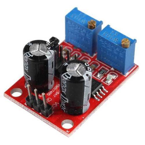 NE555 Pulse Frequency Duty Cycle Adjustable Module Square Wave Signal Generator - Techtonics