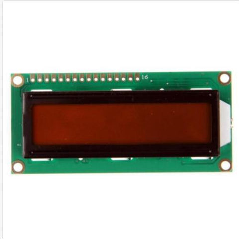 16*2 16x2 1602 Orange LCD display display for arduino and DIY project