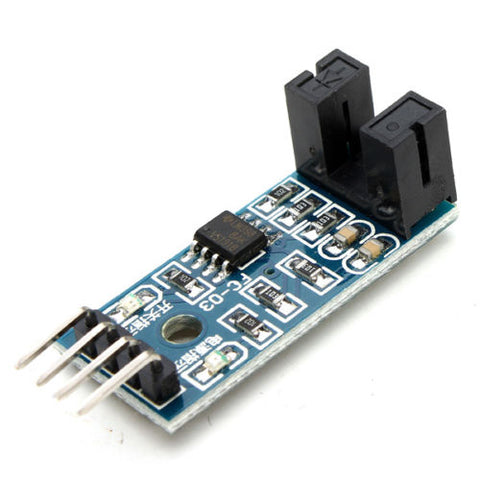 Speed Measuring Sensor Counter Motor Test Groove Coupler Module For Arduino - Techtonics
