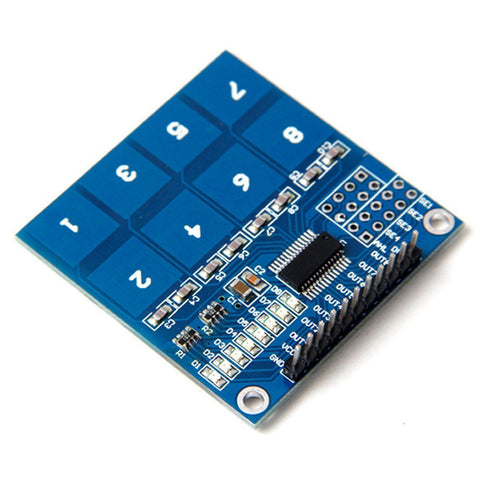 TTP226 8-way touch module Capacitive touch switch digital touch sensor