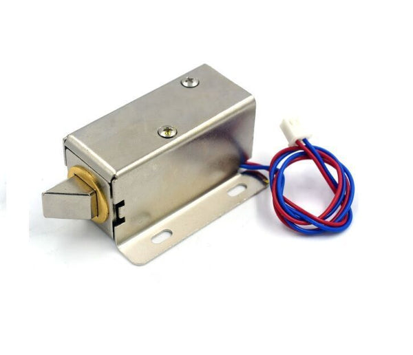 12V Electronics lock Assembly Solenoid Low Power Consumption