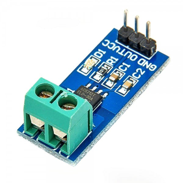 AC / DC Hall Current Sensor Module ACS712 5A model