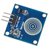 TTP223B Digital Touch Sensor capacitive touch switch module for Arduino - Techtonics