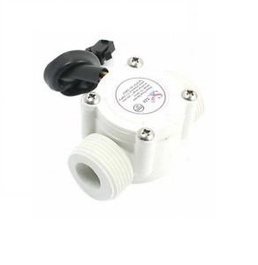 "YF-S403 3/4"" Water Flow Hall Sensor 3/4 Inch External Thread 1-30L/min Flowmeter - Techtonics"