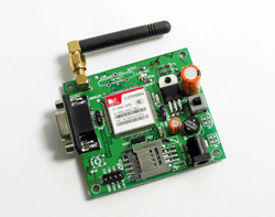 SIM900A GSM MODEM MODULE with SMA ANTENNA - CALL SMS GPRS with RS232, TTL - I2C