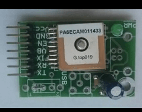 GPS Receiver - TTL USB - PA6E Patch Antenna