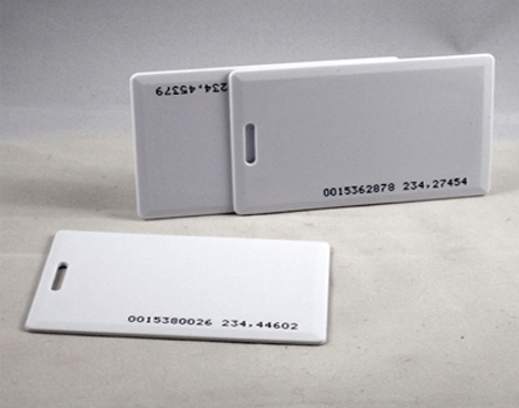 RFID Clamshell Card/TAG 125kHz