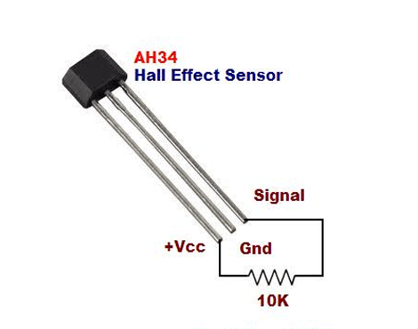 Hall Effect Sensor AH34