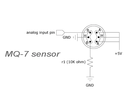 mq7 carbon monoxide sensor tech1579 techtonics rh techtonics in mq7 sensor circuit diagram MQ7 Data Sheet