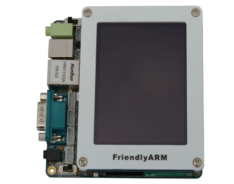 ARM 9 Mini 2440 Board + 3.5 TFT LCD with Touch Screen Display 1GB