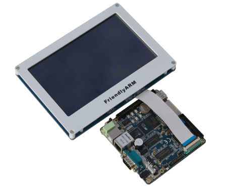 Arm9 Mini2440 S3c2440 1gb + 7inch TFT LCD Touch Screen