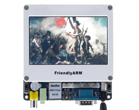 Arm11 Mini6410 S36410 Board + 4.3inch TFT LCD Touch Screen