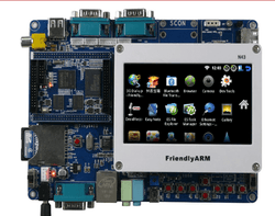 Arm11 Tiny6410 S36410 Board + 4.3inch TFT LCD Touch Screen