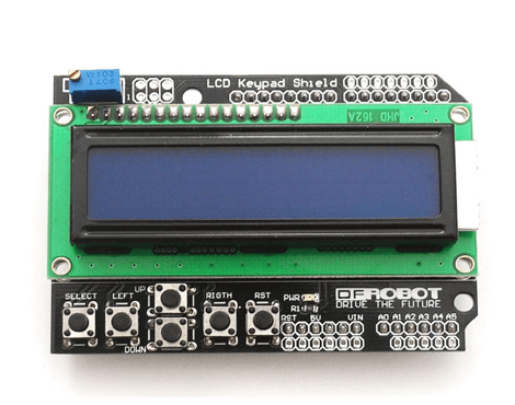 Arduino LCD Keypad Shield